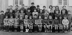 School photo (theirhistory) Tags: children boy kids school group form class girl shorts skirt trousers jumper shirt shoes wellies boots