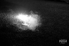 Flash (LUC4SB) Tags: cz czech czechrepublic tábor tabor fireworks newyear silvestr bnw smoke pavement