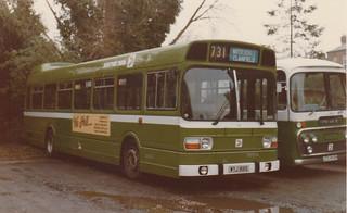 Acq. photo - Southdown 66 WYJ166S . Emsworth c. Sept. 1979 .