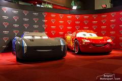 CARS 3 moviecars (belgian.motorsport) Tags: cars 3 moviecars jackson storm lightning mcqueen autosalon brussel brussels bruxelles motorshow autoshow 2018