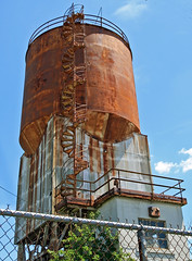 Rusty Stairway to Heaven (dlberek) Tags: rusty newjersey abandoned abandonment industrialdecay