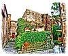 Civita di Bagnoregio (VT) 15/10/2004: Scorcio (paolocannas) Tags: civitadibagnoregio viterbo lazio italia