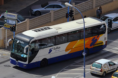 7956 DGM, Avenida Doctor Severo Ochoa, Benidorm, April 14th 2015 (Southsea_Matt) Tags: 7956dgm man subus avenidadeldoctorseveroochoa benidorm spain april 2015 spring canon 60d bus omnibus coach passengertravel publictransport vehicle