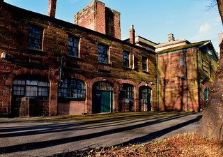 Chester Castle Out Buildings Chester Jan 28Th 2018