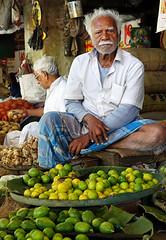 limes (geneward2) Tags: limes portrait market kolkata india vendor
