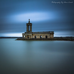 The Church In The Lake (marc_leach) Tags: rutlandwater normantonchurch oakham reservoir lake landscape longexposure canon tokina1116mm manfrotto055xprob