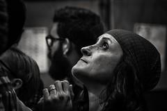 Tensió Concentració  ....  som nens . ( tensión , cncentración ) (Alex Nebot) Tags: portrait bnwportrait monocromo bw biancoenero blancoynegro blackanwhite retrat castellera castellers castells nens vendrell penedes comarca poble tarragona tgn nikon d7200 sigma women esther catalonia city citta ciudad cultura tradiciones girl humantower humantowers noiretblanc faces face penunbra