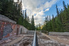 Reclaiming the Land (JeffMoreau) Tags: miette hot springs jasper sony a7ii zeiss national park alberta rockies canadian canada