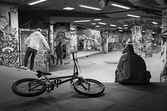 (XBeauPhoto) Tags: bmx bicycle cycle graffiti london skateparkskateboard brutalism brutalist citylife concrete fujix100f streetphoto streetphotography urban urbanart youth