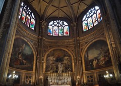 Church of St Eustache, Paris (L'église Saint-Eustache) (M_Strasser) Tags: paris olympus olympusomdem1 france frankreich