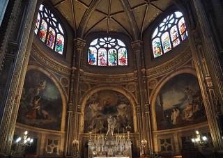Church of St Eustache, Paris (L'église Saint-Eustache)