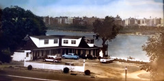 Wagon Wheel restaurant circa 1960 (LennyNJ) Tags: northbergen nj newjersey hudsoncounty