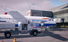 BAW480 | LHR-BCN | A320 (Pilot Tris) Tags: prepar3d flight flying plane aeroplane airplane computer gaming flightsim sim simulator cockpit aerial sky landscape city aircraft mountain road grass people
