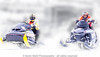 sleds on the lake (light shift) Tags: ice race icerace sleds snow winter cold lake frozen compete laclabiche kevinwahl lightshift snowmobile