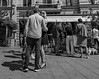 Caught in the act...    Stockholm / Sweden (mikeback-streetphotography) Tags: blackandwhite black blackandwhitephotography bnw blackwhite beautiful bw urban urbanwalls urbanart gatufotografi photography photographer streetphotographers streetphotography people sweden monochrome mono monochromatic stockholm beard mikebackstreetphotography woman girl boy street
