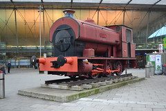 0-6-0ST Saddle Tank Loco - Robert (Will Swain) Tags: london 23rd december 2017 stratford east city greater capital south transport travel uk britain vehicle vehicles county country england english 060st saddle tank loco robert station trains train rail railway railways