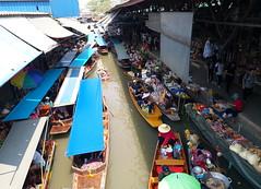 Floating Market (stardex) Tags: boat river canal floatingmarket thailand damnoensaduak