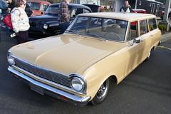 Chevy II Wagon (bballchico) Tags: chevrolet chevyii stationwagon newyearscoolcarcruise carshow