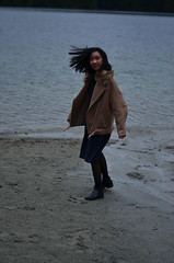 Gabby (nastashastreiling) Tags: britishcolumbia bc beach winter january fashion style portrait vancouver pnw pacific north west rainy cloudy cold windy canada candid