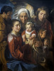 'The Holy Family' by Jacob Jordaens (Greatest Paka Photography) Tags: jacobjordaens flemish art artist painting museum legionofhonor crucifix jesuschrist child family infant gabriel angel grapes symbol saintanne suffering parents grandmother sanfrancisco holy holyfamily people