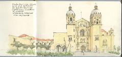 Oaxaca, Mexico -  Santo Domingo (Matthew-1) Tags: oaxaca mexico santodomingo sketch watercolour