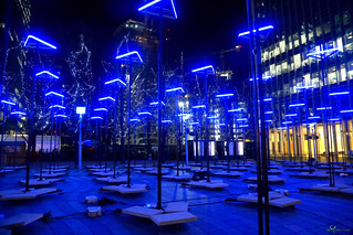 Winter Lights Canary Wharf 2018 (explored)
