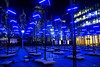 Winter Lights Canary Wharf 2018 (explored) (Asarum Images (asarumimages.weebly.com)) Tags: lights canarywharf london canon canonphotography canoneos6d asarumimages asarum events winterlights blue