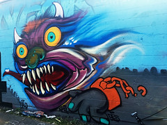 Monster Mash (wiredforlego) Tags: graffiti mural streetart urbanart aerosolart halloween chicago illinois ord horror