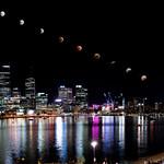2018 Super Blue Blood Moon Lunar Eclipse Composite Progression - Perth, Western Australia thumbnail