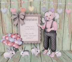 L.O.T.D 02.05.18 (Emery/Teagan Parker) Tags: elodie ninety nine half deer for rose doe say cheese adoptable cute secondlife toddleedoo sl adorable family 99