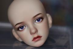 2 (Guinevere88) Tags: bjd bjdfaceup balljointeddoll bjdgirls faceup faceupcommission faceupbjd faceupforbjd doll dolls dollfaceup dimdoll