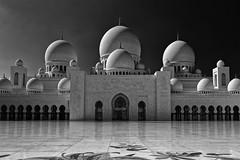 Sheikh Zayed Grand Mosque in B&W #2 (T.Seifer : )) Tags: architecture abu dhabi grand mosque monochrome cityscape fx building beautiful islamic sheikh zayed emirates uae blackandwhite blackwhite travel tourism outside outdoors whiteandblack whiteblack weisschwarz