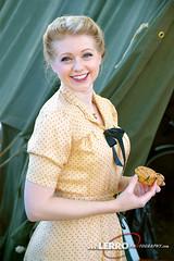 D-Day Conneaut Reenactment (Lerro Photography) Tags: worldwarii wwii reenactment ddayconneaut ohio conneaut reenactor dday wwiifashion women reenactors vintage fashion