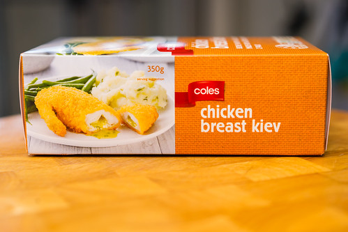 Coles chicken Kiev