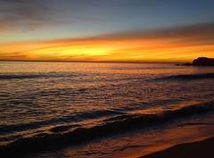 Praslin sunset, Seychelles