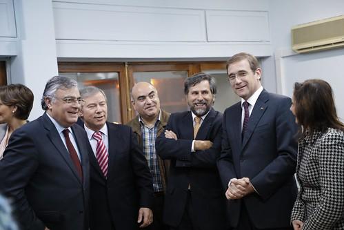 Inauguração Sede Nacional JSD, TSD e visita à Sede Nacional dos ASD e IFSC