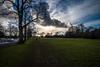 Big sky morning...... (Dafydd Penguin) Tags: big sky morning walking city urban spaces public park grass green cloud sun jogger trees cloudy scape scene bristol uk england henleaze leica m10 elmarit m 21mm f28