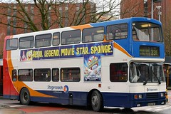 16506 R506 UWL (Cumberland Patriot) Tags: stagecoach north west england greater manchester south buses pte passenger transport executive london thames transit volvo olympian alexander rl h5136f 506 16506 r506uwl step entrance bus double deck decker derv diesel engine road vehicle omnibus