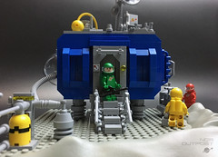 NCS Outpost (Jorel_) Tags: lego neoclassicspace space adventure exploration exoplanet retro