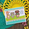 Sending Hugs Birthday (Newton's Nook Designs) Tags: newtonsnookdesigns handmadecards valentine hugs birthday critters smiles