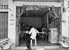 Tailor - Koh Samui (Thailand) (ID Hearn Mackinnon) Tags: koh samui thailand thai 2013 tailor clothesmaker clothes maker worker working workshop work making island south east asia asian culture people