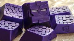 Shimmer Purple Bot x Gamer (iArson) Tags: artisan keycaps macro artisanmacro bro brobot bot gamer moba fps purple brocaps mechanical keyboards