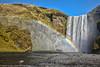 Nice view of Skogarfoss (Alaskan Dude) Tags: travel europe iceland glacier waterfall foss landscape nature scenery 5photosaday skogarfoss rainbow water