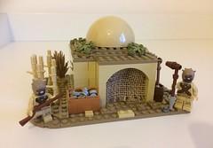Star Wars: Tusken Raider Mud Hut.
