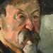 CEZANNE,1898-1900 - Portrait de l'Artiste au Béret (Boston) - Detail h