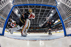 """Kansas City Mavericks vs. Cincinnati Cyclones, February 3, 2018, Silverstein Eye Centers Arena, Independence, Missouri.  Photo: © John Howe / Howe Creative Photography, all rights reserved 2018. • <a style=""""font-size:0.8em;"""" href=""""http://www.flickr.com/photos/134016632@N02/39220093205/"""" target=""""_blank"""">View on Flickr</a>"""