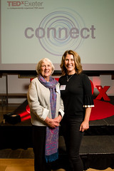 Gill Hayes with her mother at the TEDxExeter 2018 launch event at Royal Albert Memorial Museum (TEDxExeter) Tags: exeter tedxexeter tedx tedtalks exetercity devon ramm royalalbertmemorialmuseum technology entertainment design innovation speakers audience tedxexeter2018 tedxexeter2018launch tedxexeterlaunch sponsors crowd 2018 england eng