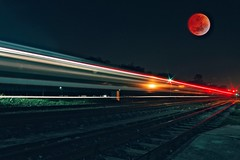 Moonlight Express (ibtihajtafheem) Tags: moon fullmoon bluemoon redmoon supermoon sky skyporn skyphotography skyscape skyspace space springbreak train traffic travelphotography travelearth trails travelblog travel railway railroad trainlight traintrails lighttrails lighter lightphotography light lights nightmare night nightshot nightphoto nights nightsky nightphotos nightshooterz nightscape nightscaping nightphotography nightshots nightscaper nightcolors color colors naturelover naturelovers naturechild naturephotography naturescape nature natureporn natgeotravel natgeo naturel natural natureshot naturebeauty photography photographylove photographs photographylife photo photographer photos