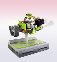 LSB2018 - Tequila delivery speeder (Brixnspace) Tags: lego moc speeder district18 district 18 tequila tequilatron lsb
