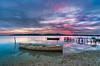 Loneliness 5 (dajethy) Tags: dajethy barche sunset cagliarifoto cagliaripanoramica seaendsky tramonto laguna sera barca wwwdajethycom nisifilter canon